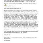 מכתב באנגלית