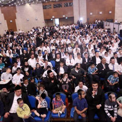 אירוע פסח למאות ילדים מיוחדים בירושלים • פסח 2017