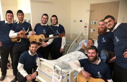 Another joyous visit to Hadassah Ein Kerem Hospital
