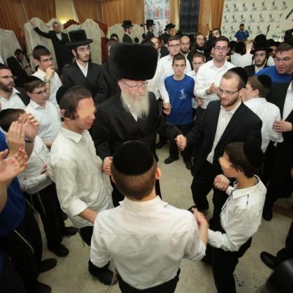 Simchas Bais Hashoeiva in Yerushalayim