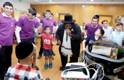 A Child Asked to Celebrate His Bar Mitzvah in a Hospital • Alin Hospital