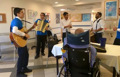 Another Friday • An erev-Shabbos kumzitz in Misgav Ladach Hospital