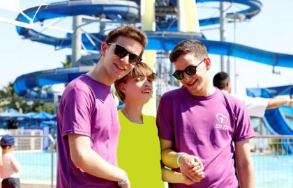 A Day of Fun for Hundreds of Special Families of B'Lev Echad