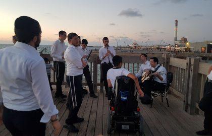 מול גלים וים אין סופי • קומזיץ ברידניג בתל אביב