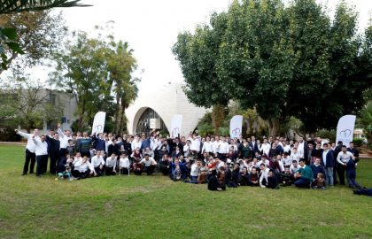 Shabbos getaway for hundreds of sick children • Netanya