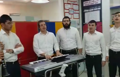 Distributing Light and Joy – Tel Hashomer Kislev
